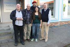 Mit den VS-Kollegen bei der Lesung in Greifswald